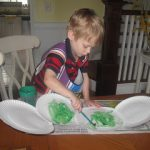 The Very Hungry Caterpillar Paper Plate Craft