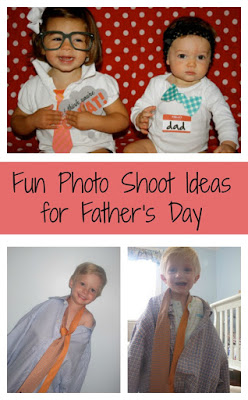 Dress Like Daddy!: Fun Photo Shoot Ideas for Father's Day