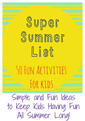 50 Summer Activities for Kids || The Chirping Moms