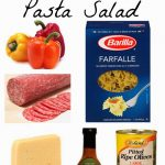 Tuscan Italian Pasta Salad