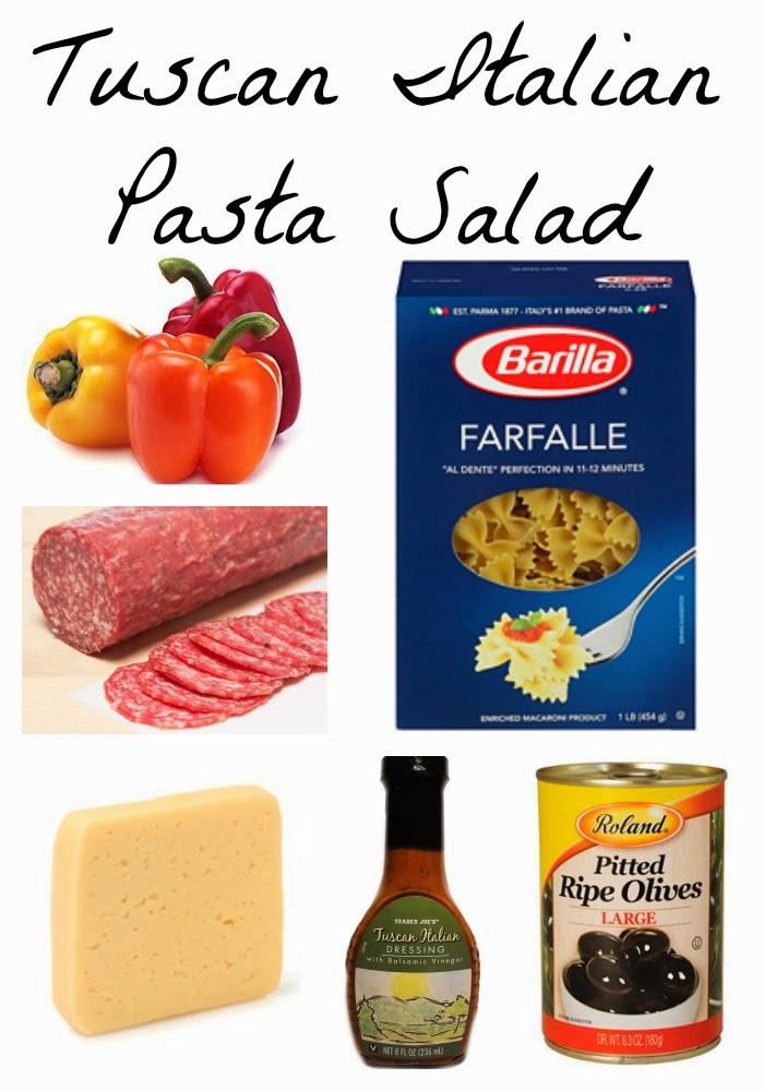Tuscan Italian Pasta Salad    The Chirping Moms