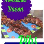 Molasses Bacon Ribs