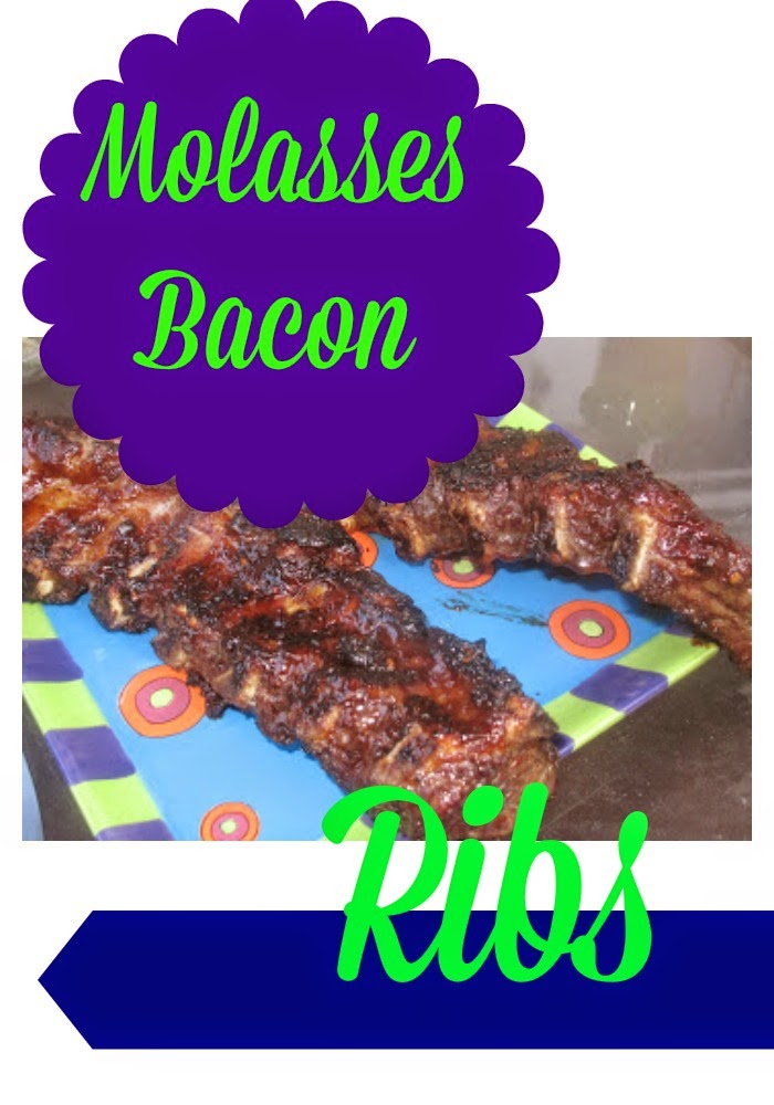 Molasses Bacon Ribs : The Chirping Moms