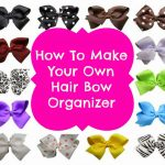 DIY Hair Bow Organization
