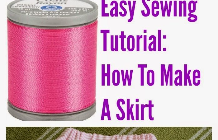 How to Make A Skirt (Very Easily)