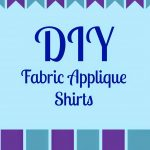 DIY Fabric Applique Shirts
