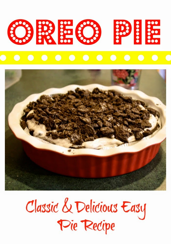Oreo Pie Recipe : The Chirping Moms