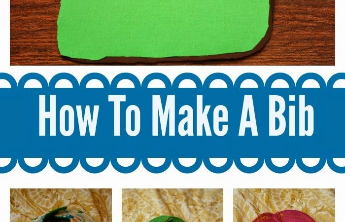 How to Make A Bib (Very Easily)