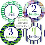 Today's Giveaway: Belly & Onesie Stickers