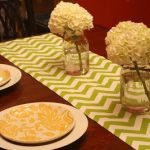 Setting A Cheerful Table & An Easy Weeknight Recipe