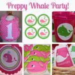 Alex's First Birthday Party: A Preppy Whale Party
