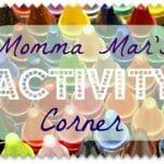 Co-Host:  Momma Mar's Activity Corner