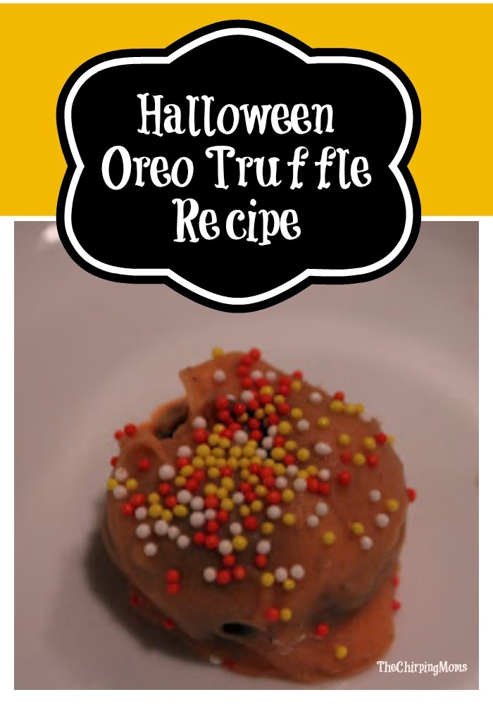 Halloween Oreo Truffles : The Chirping Moms