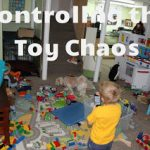 Organization Week Continues:  Controlling Toy Chaos!