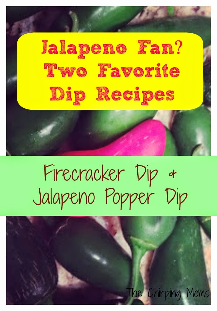 Jalapeño Dip Appetizers || The Chirping Moms