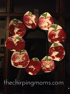 Apple Crafts for Kids : The Chirping Moms