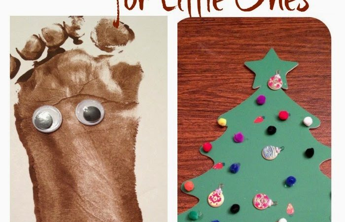 Two Christmas Projects for Little Ones