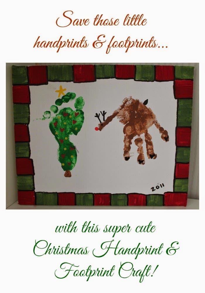 Christmas Handprint Craft 21 Handprint And Footprint