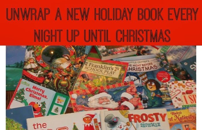 Countdown to Christmas Tradition:  Reading Holiday Books with Your Little Ones
