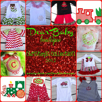 Monday Funday:  Dear Baby Boutique GIveaway!