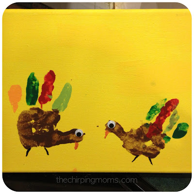 Thanksgiving Handprint Craft : The Chirping Moms