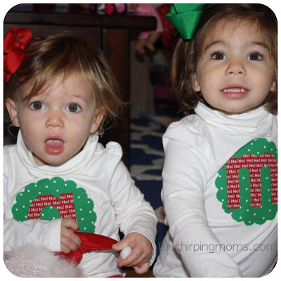 Two Simple Ways to Make Christmas Shirts