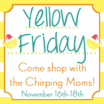 Final Day of YELLOW FRIDAY!!!!