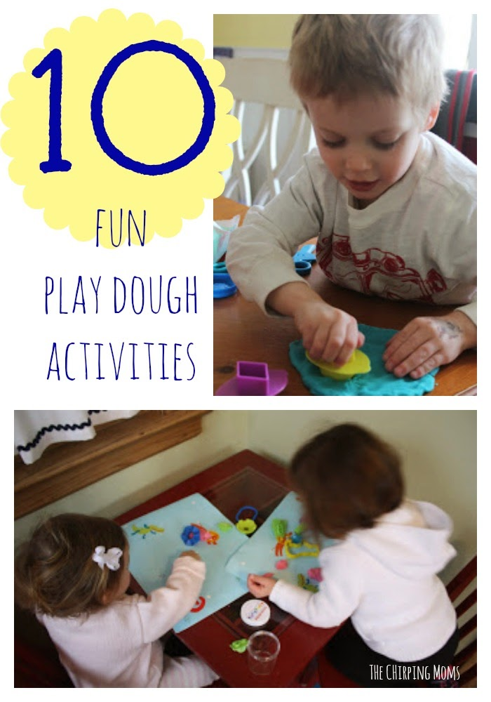 Play Dough Activities for Kids || The Chirping Moms