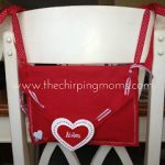 DIY Valentine Chair Backer