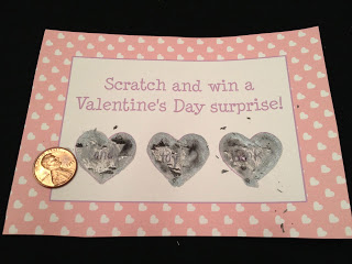 DIY Scratch Off Valentine Tutorial || The Chirping Moms