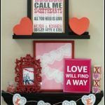 Guest Post: A Valentine's Day Mantel