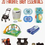 20 Favorite Baby Essentials