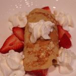 Easter Brunch Recipe:  Strawberry Crepes (and Kid Friendly!)