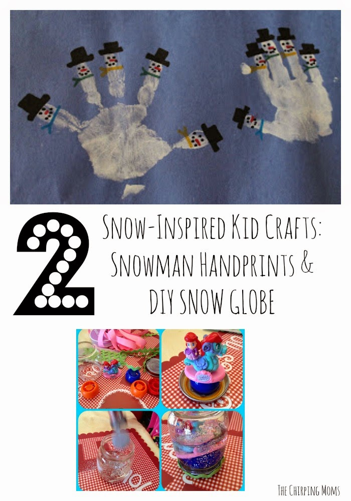 Winter Craft Ideas for Kids || The Chirping Moms