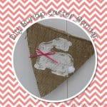 DIY Burlap Easter Banner