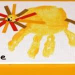 Lion Handprint Craft for Kids