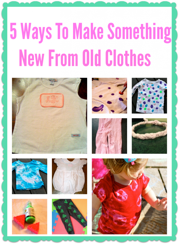 Whether They Grow Out Of Them Or Wear Through At The Park Never Seem To Last Long Enough Here Are 5 Ways Make Something New