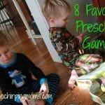 Friday Favorites:  Preschool Board Games