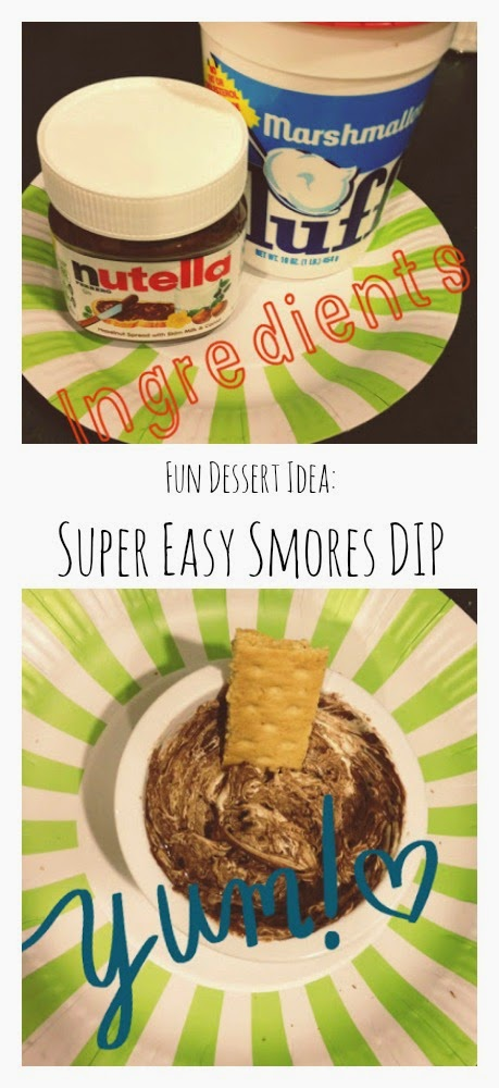 Super Easy S'mores Dip || The Chirping Moms
