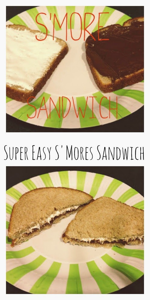 Super Easy S'mores Sandwich || The Chirping Moms