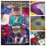 How to Make A T-Shirt Quilt: A Guest Post