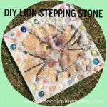 DIY Lion Stepping Stone:  Jo-Ann Summer of Crafting Challenge