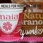 20 Simple Meal Ideas for Moms on the Go!