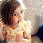 A Yummy Summer Recipe for Kids: Maia Yogurt Pops