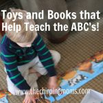 Toys and Books that Help Teach the ABC's!