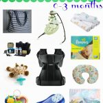 0-3 Month:  Baby Must-Haves