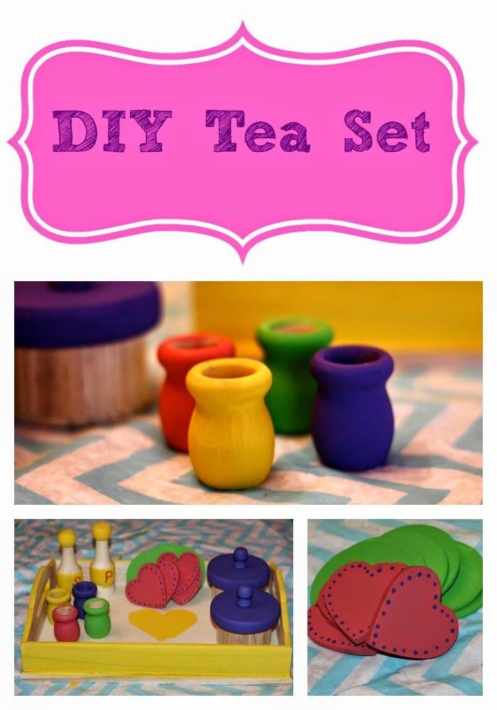 DIY Tea Set : The Chirping Moms