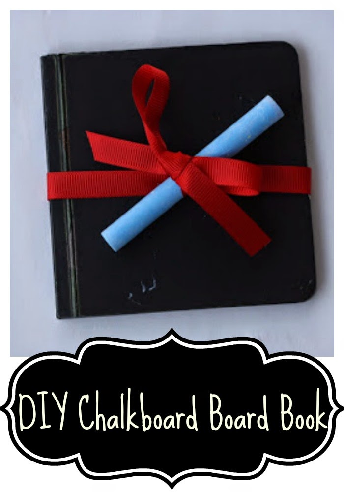 DIY Chalkboard Board Book : The Chirping Moms