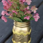 An Easy DIY Mason Jar Vase
