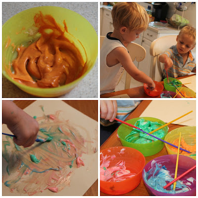 Pumpkin Pie Pudding Paint : The Chirping Moms